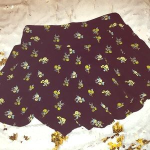 BP shorts that look like a skirt